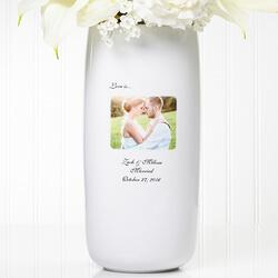 Personalized Wedding Photo Flower..