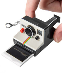 Worlds Coolest Polaroid Keychain