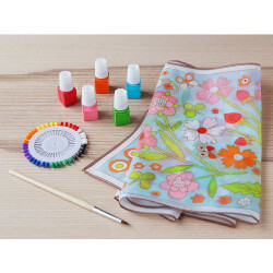 Djeco: DIY Silk Scarf Painting Kit
