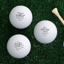 Personalized Golf Balls -..