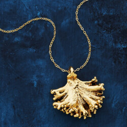 Dipped Kale Foodie Necklace