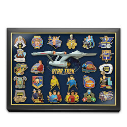 STAR TREK 24K Gold-Plated 50th..
