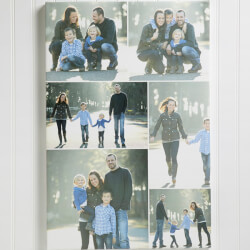 Custom Photo Collage Canvas Print..