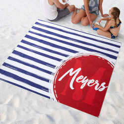 Personalized Beach Blanket -..