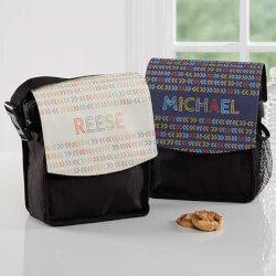 Personalized Lunch Bags - Stencil..