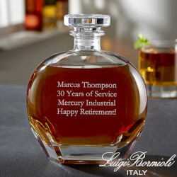 Custom Engraved Whiskey Decanter -..