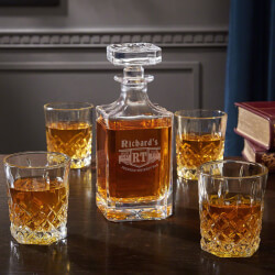 Bedingfeld Monogrammed Liquor..