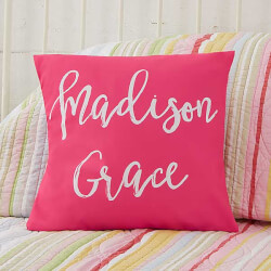 Personalized 14 Kids Throw Pillow..