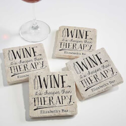 Personalized Stone Coasters -..