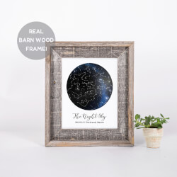 Custom Constellation Print In A..