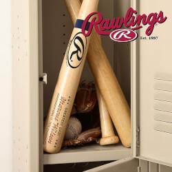 Personalized Rawlings Baseball Bat..