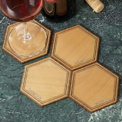 Personalized Wood Coasters -..