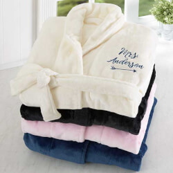 Embroidered Luxury Bathrobe For Her