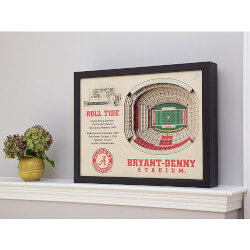 StadiumViews: 3D Stadium Wall Art
