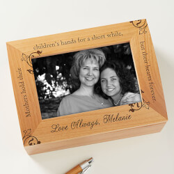 To My Mother Photo Keepsake Box..