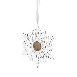 Custom Sand Snowflake Ornament