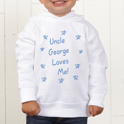 Personalized Toddler Hooded..