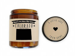 No Place Like Home Candles: State..