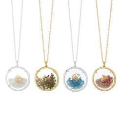 Four Seasons Glass Necklaces