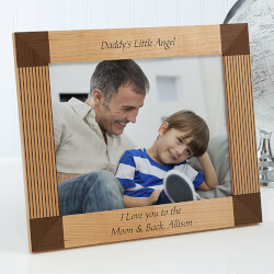Personalized Father Picture Frames..