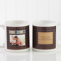 Personalized Mens Photo Coffee..