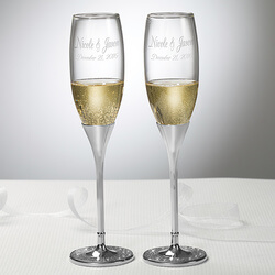 Personalized Wedding Champagne..