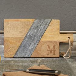 Oakmont Mango Wood & Marble..