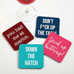 Personalized Coasters - Funny..