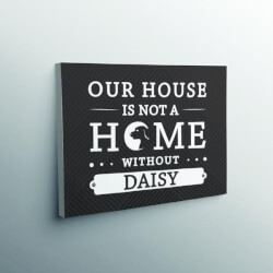 Our House Is Not A Home Without..