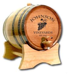 Personalized Wine Barrel