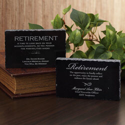 Personalized Retirement Gift..