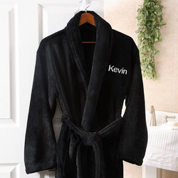 Mens Personalized Spa Robe -..
