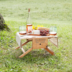 Personalized Picnic Table Wine..