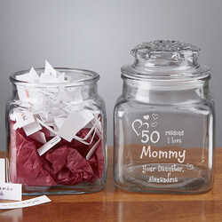 Personalized Keepsake Jars -..