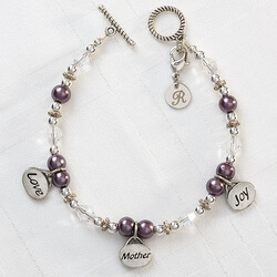 Personalized Charm Bracelet For..