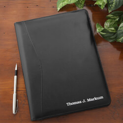 Personalized Leather Portfolio -..