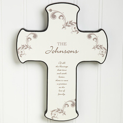 God Bless Our Home Personalized..