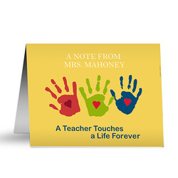 Personalized Teacher Note Cards -..
