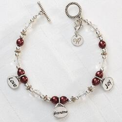 Personalized Charm Bracelet -..