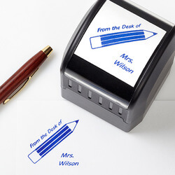 Personalized Teacher Stamps -..