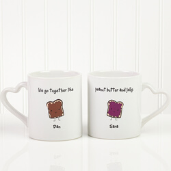 Romantic Personalized Coffee Mug..