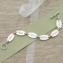 Custom Engraved Bracelet For Mom..
