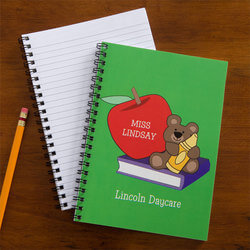 Personalized Teacher Notebook Set..
