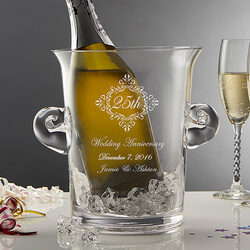 Personalized Anniversary Glass..