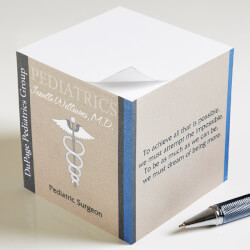 Personalized Note Pads For Doctors..