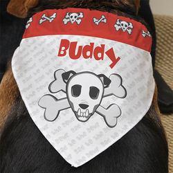 Personalized Dog Bandanas - Bad To..