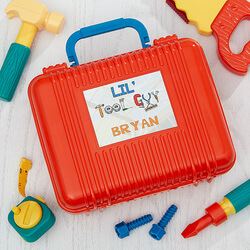 Personalized Kids Toy Tool Set -..