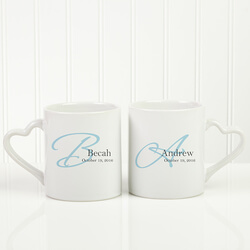 Personalized His & Hers Coffee Mug..