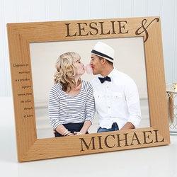 Personalized Picture Frames - 8x10..