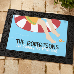 Personalized Doormat - Summer Fun..